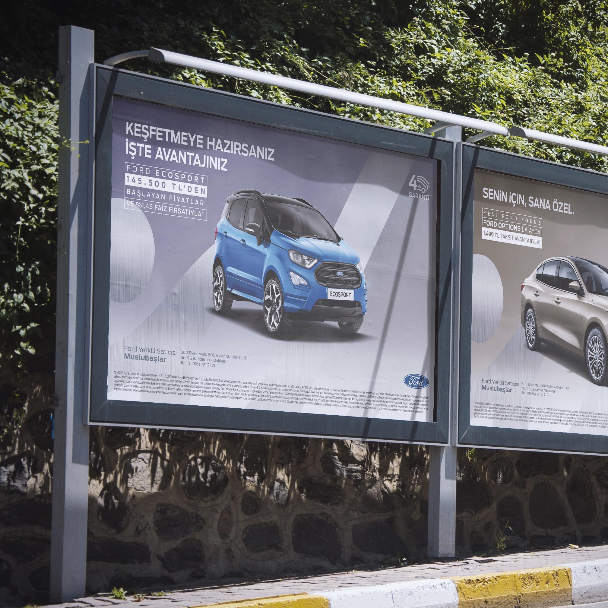 Ford Muslubaşlar Billboard