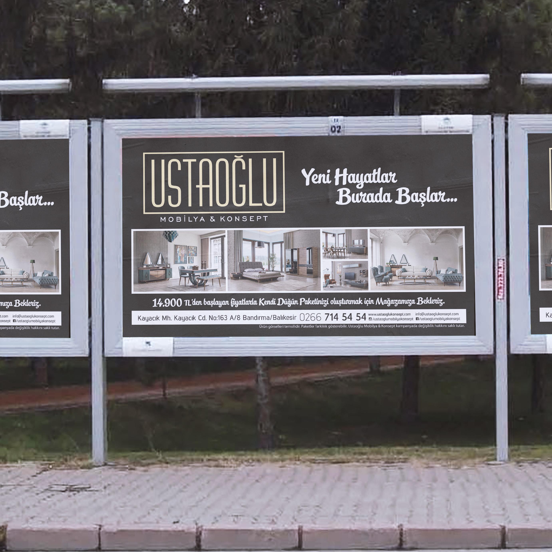 Ustaoğlu Mobilya & Konsept Billboard