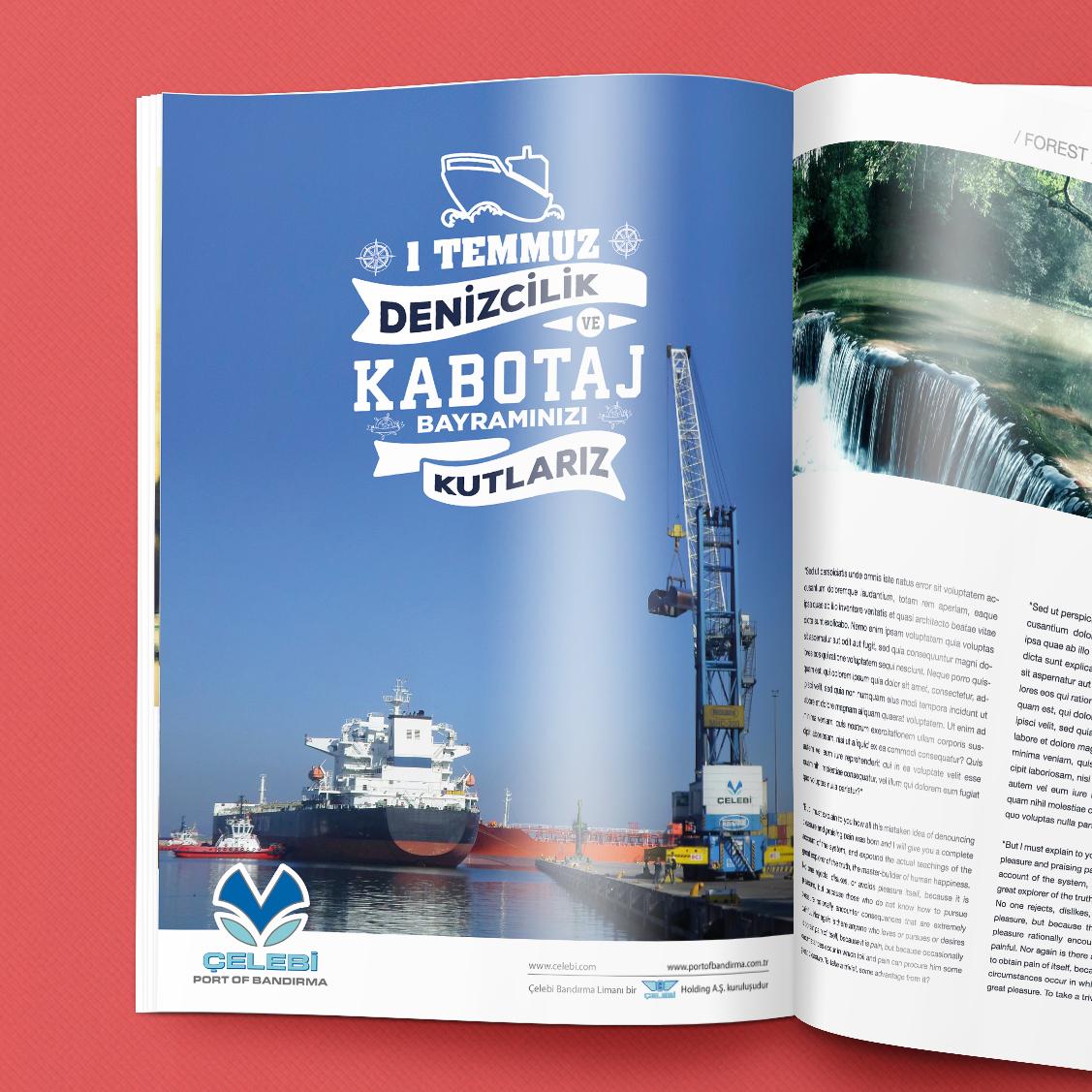 Çelebi Port Of Bandırma Dergi