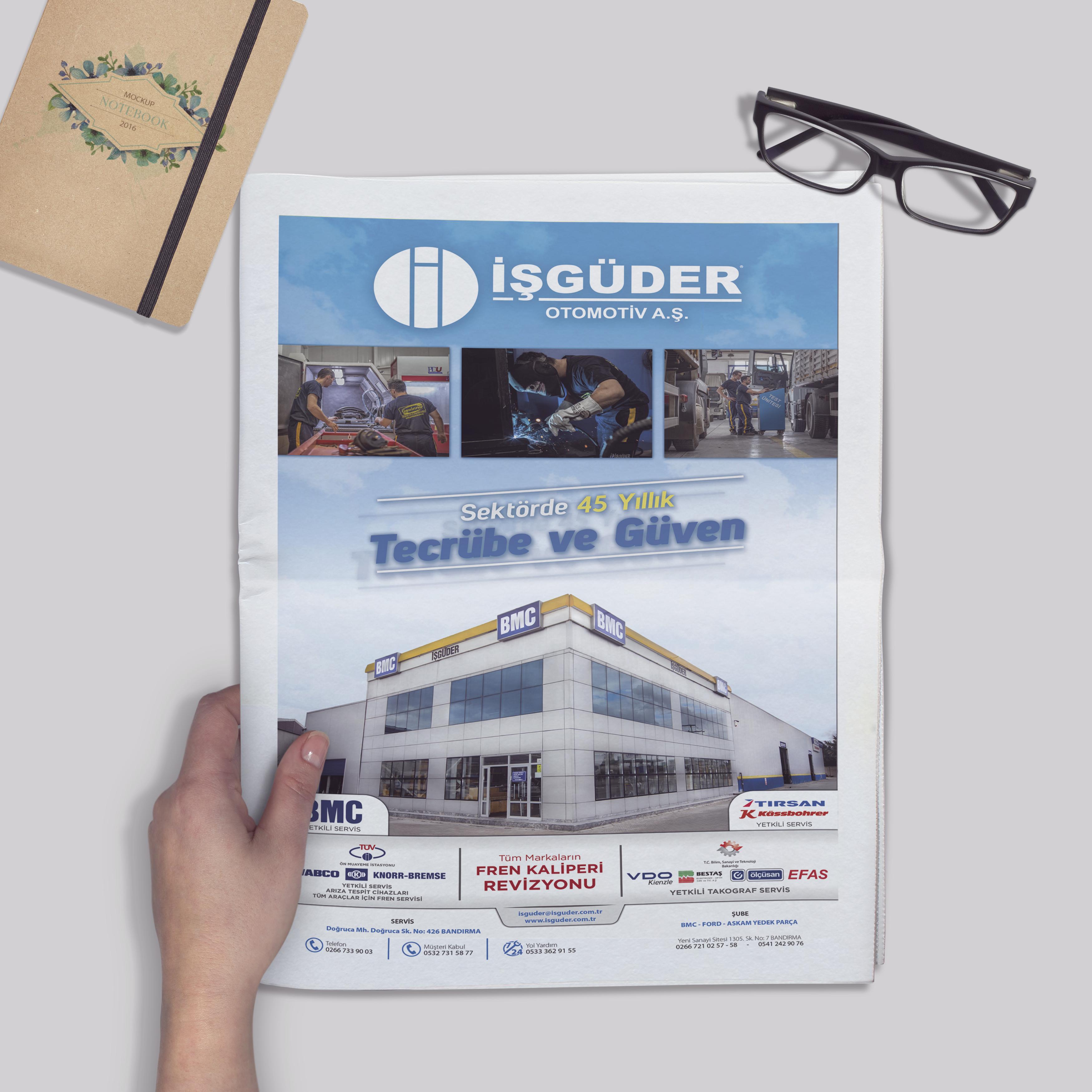 İşgüder Otomotiv Gazete