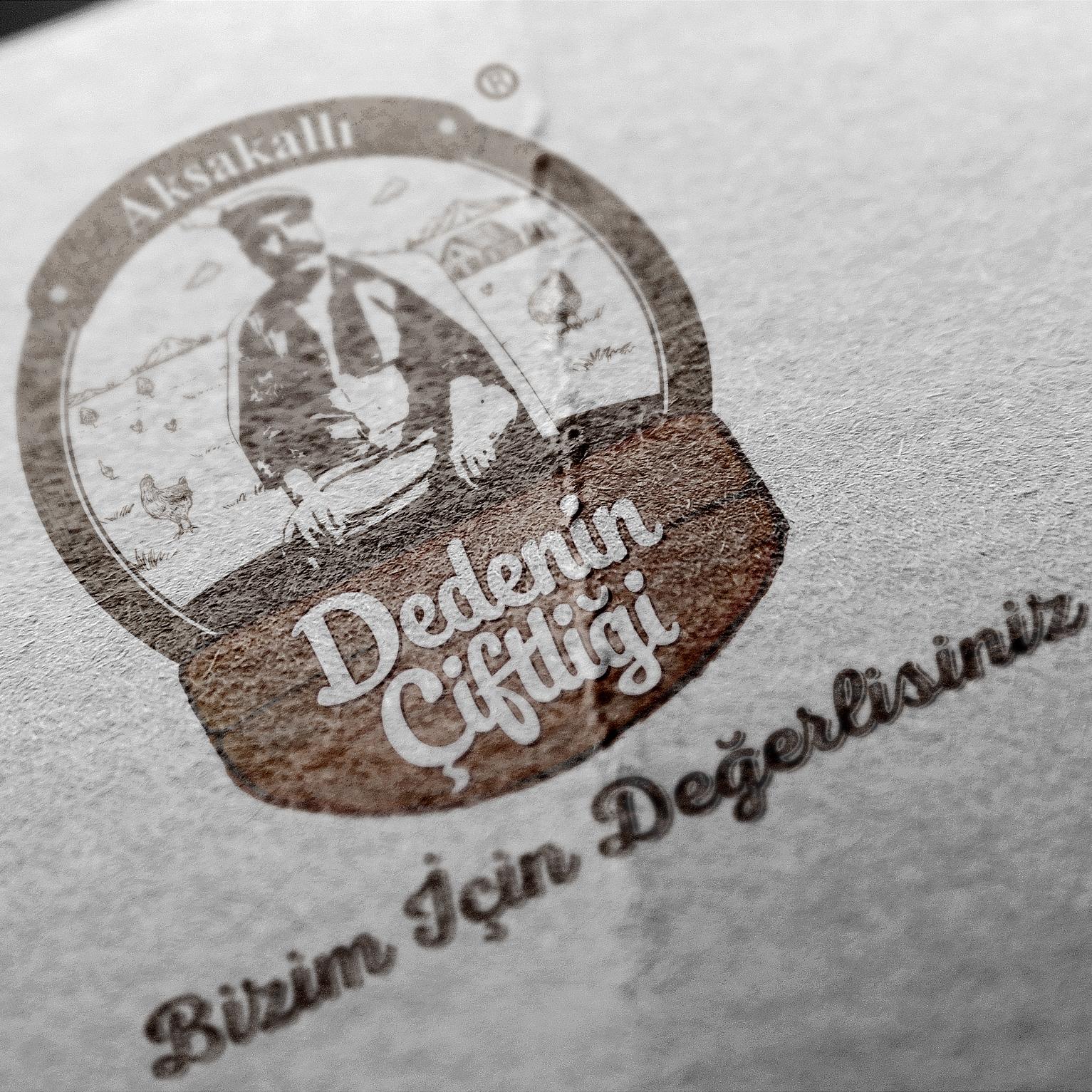 Aksakallı Dedenin Çiftliği Logo