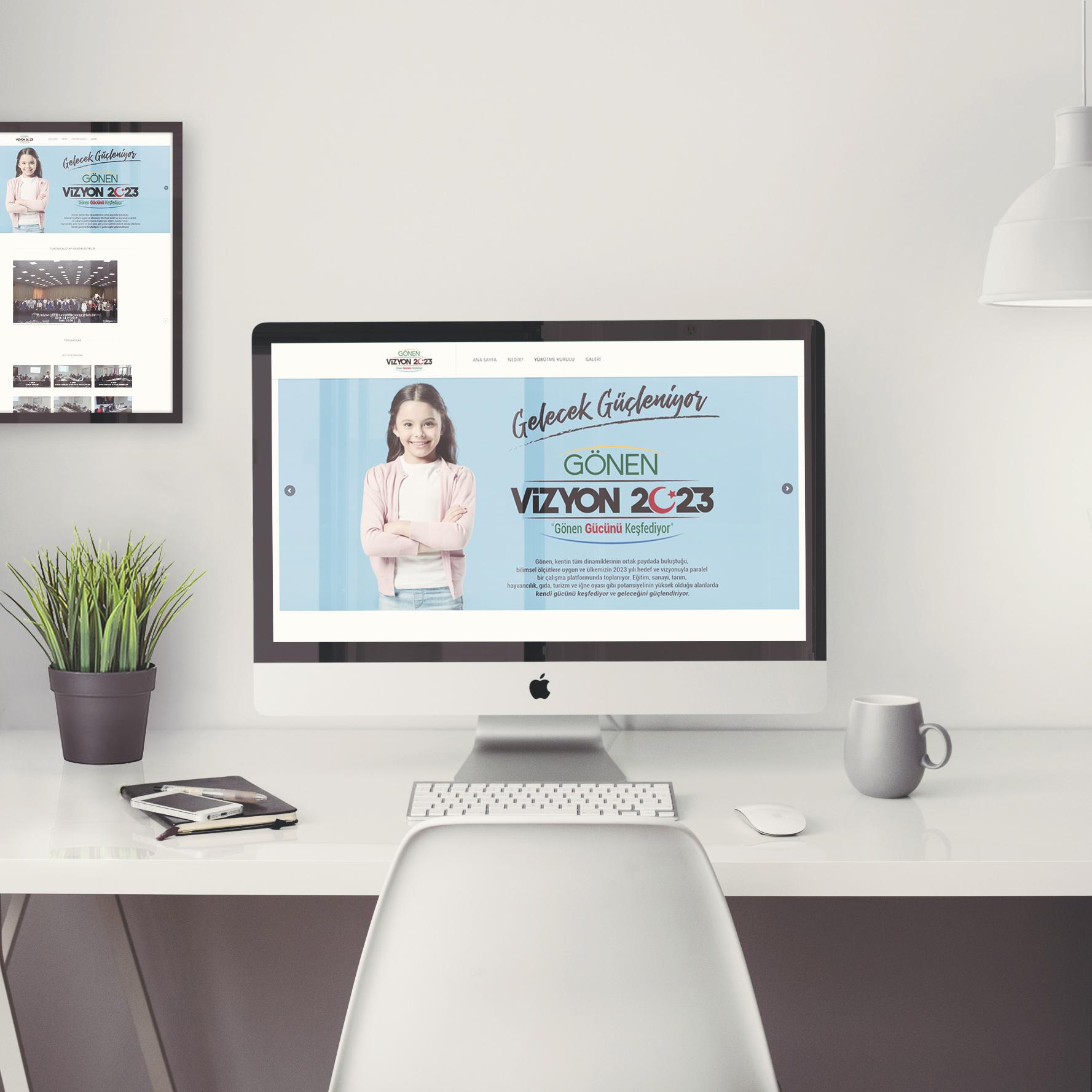 Gönen Vizyon 2023 Web Site