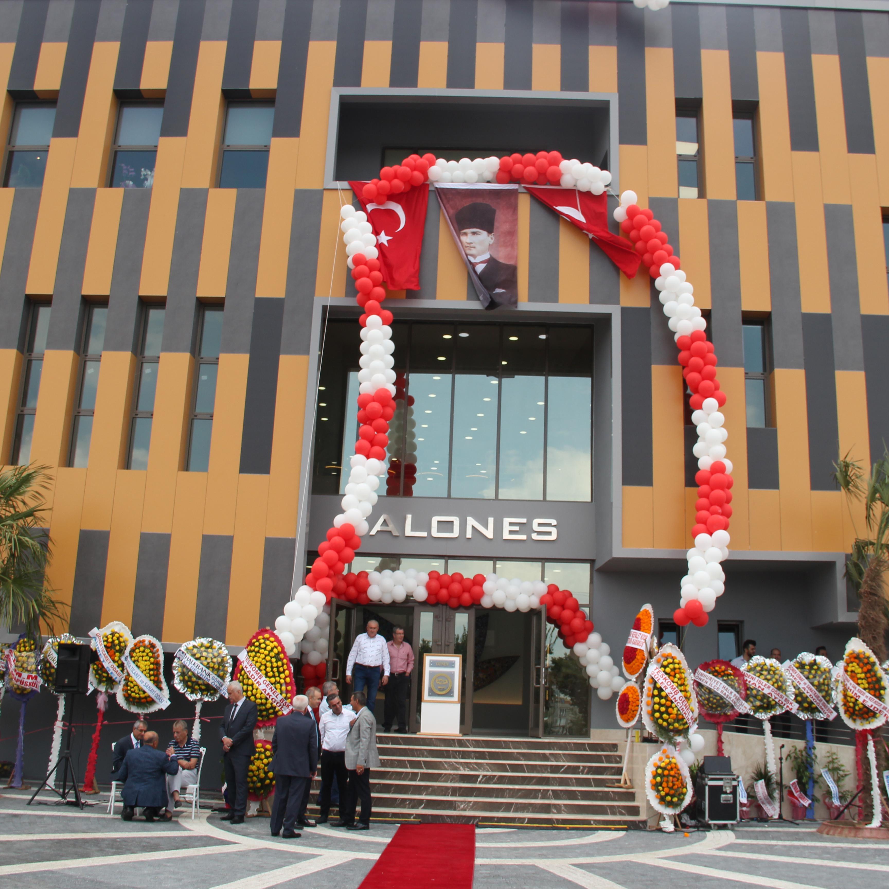 Gönen Kredi ve Esnaf Kefalet Kooperatifi Yeni Bina Açılış