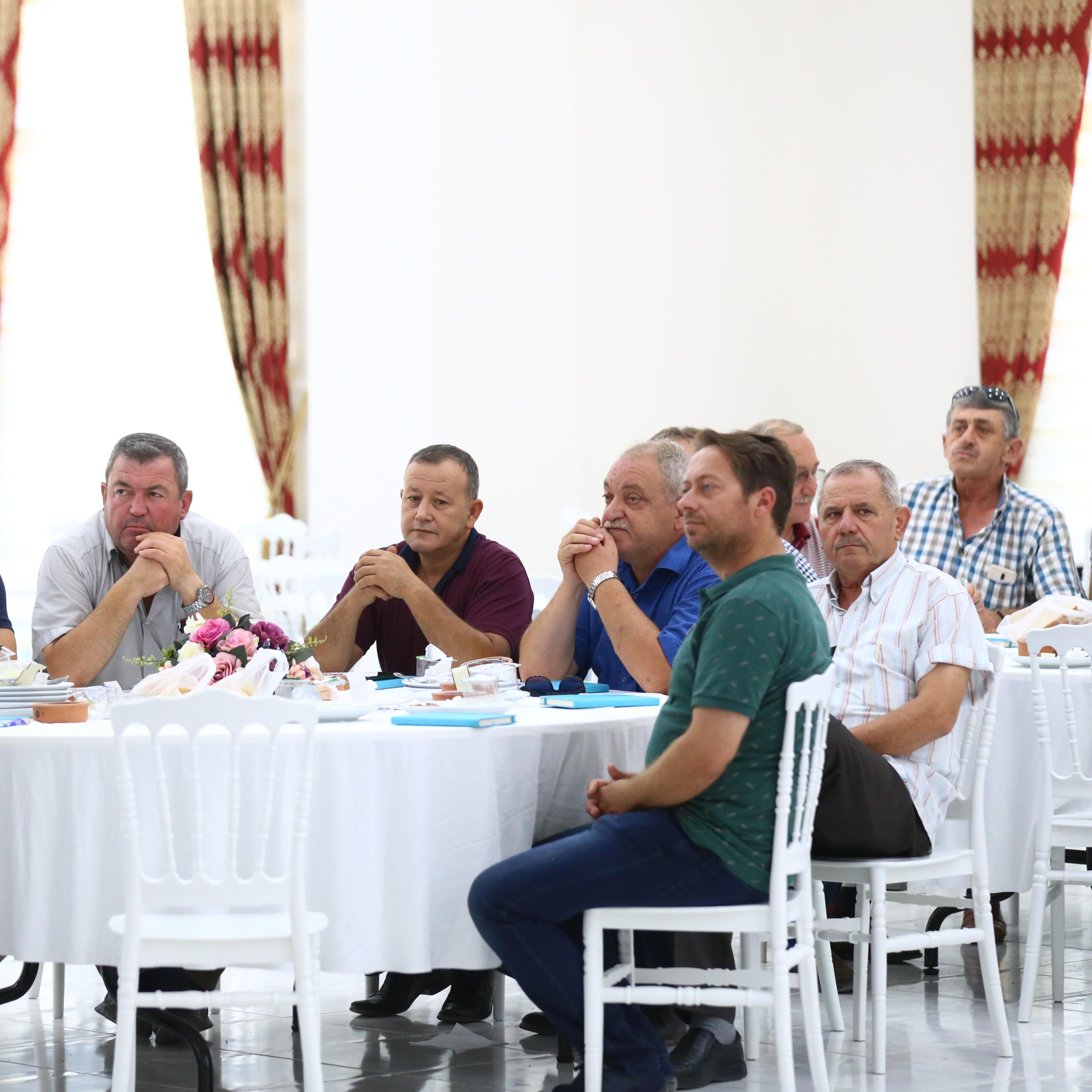 Manyas Belediyesi Muhtarlar Toplantısı