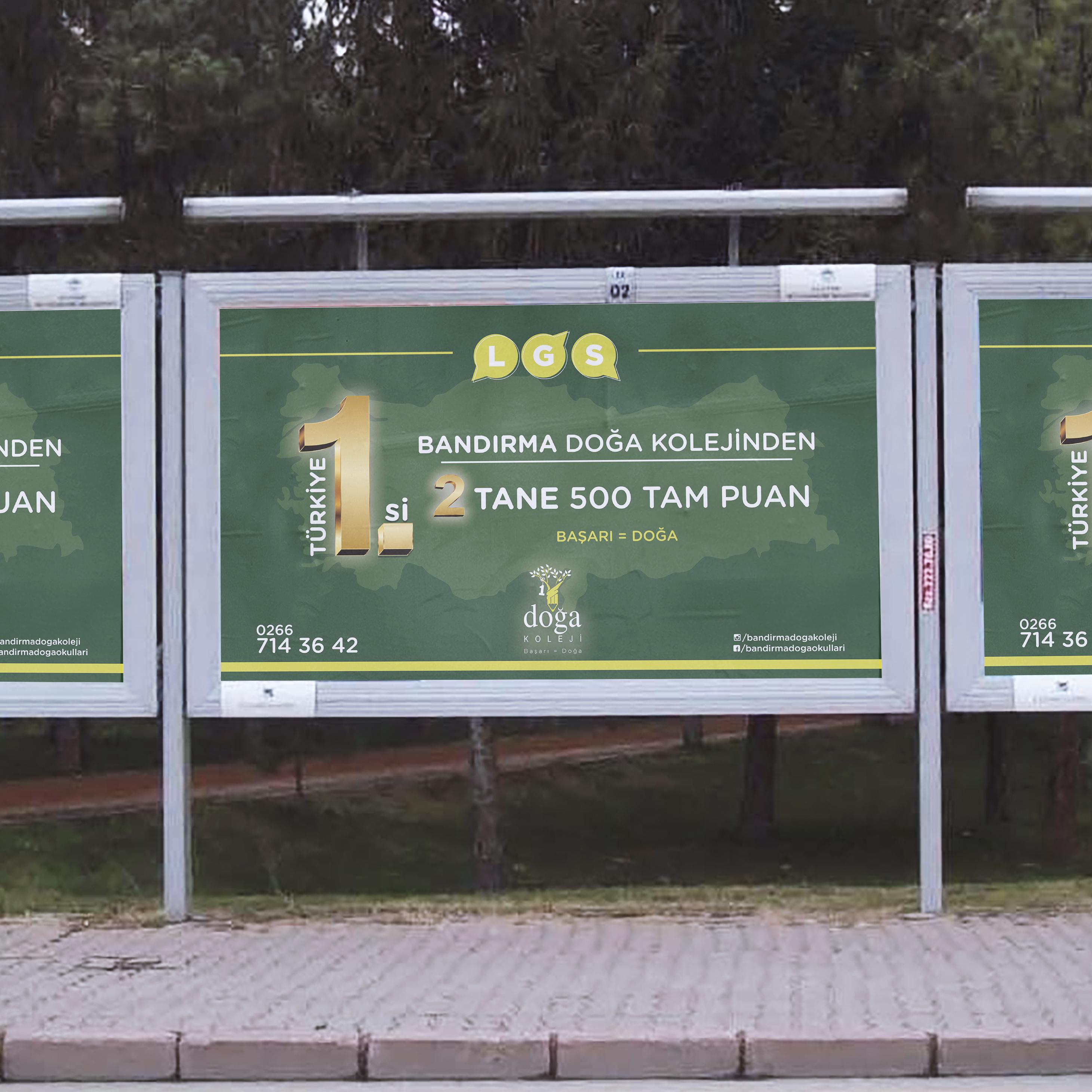 Doğa Koleji Billboard