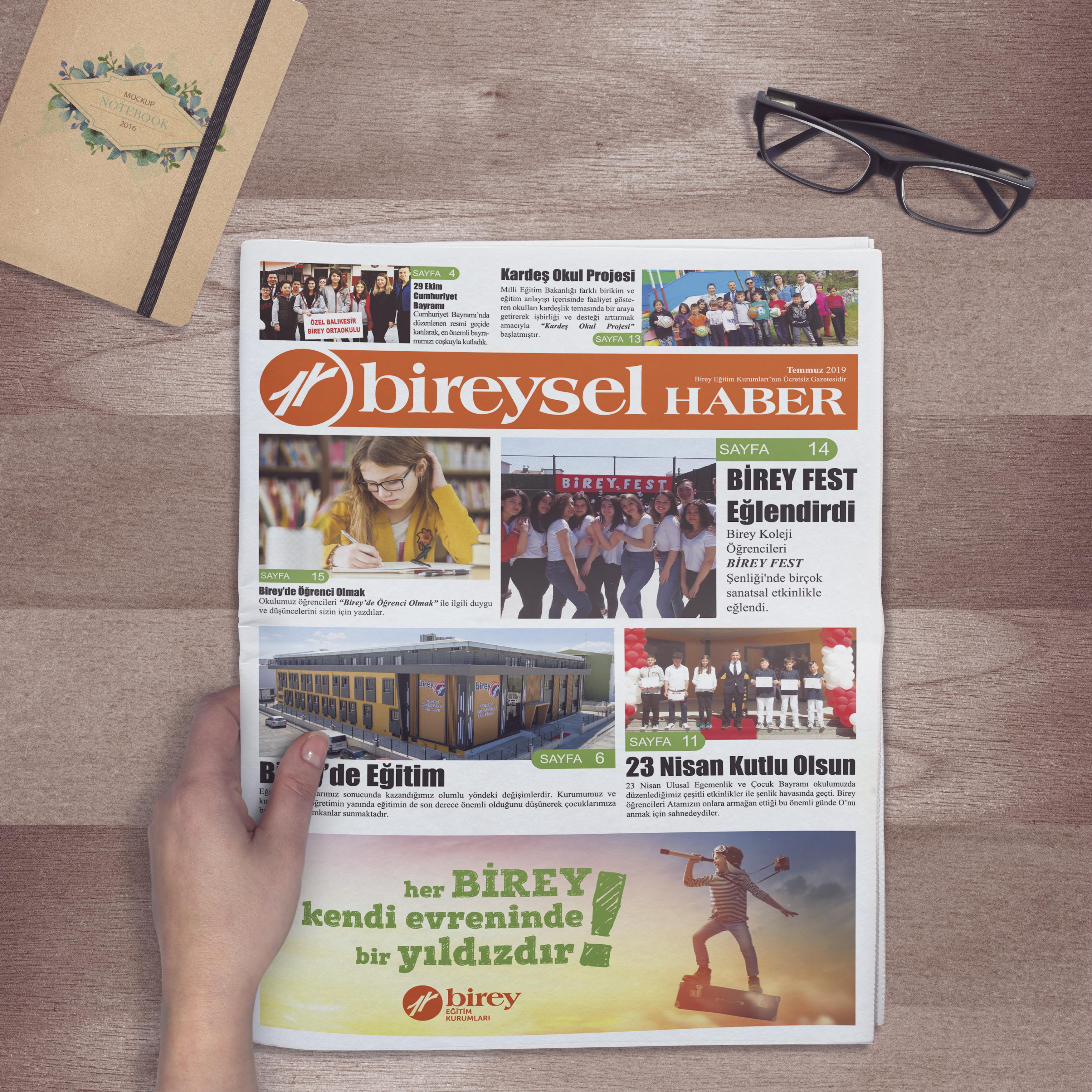 Birey Eğitim Kurumları Gazete