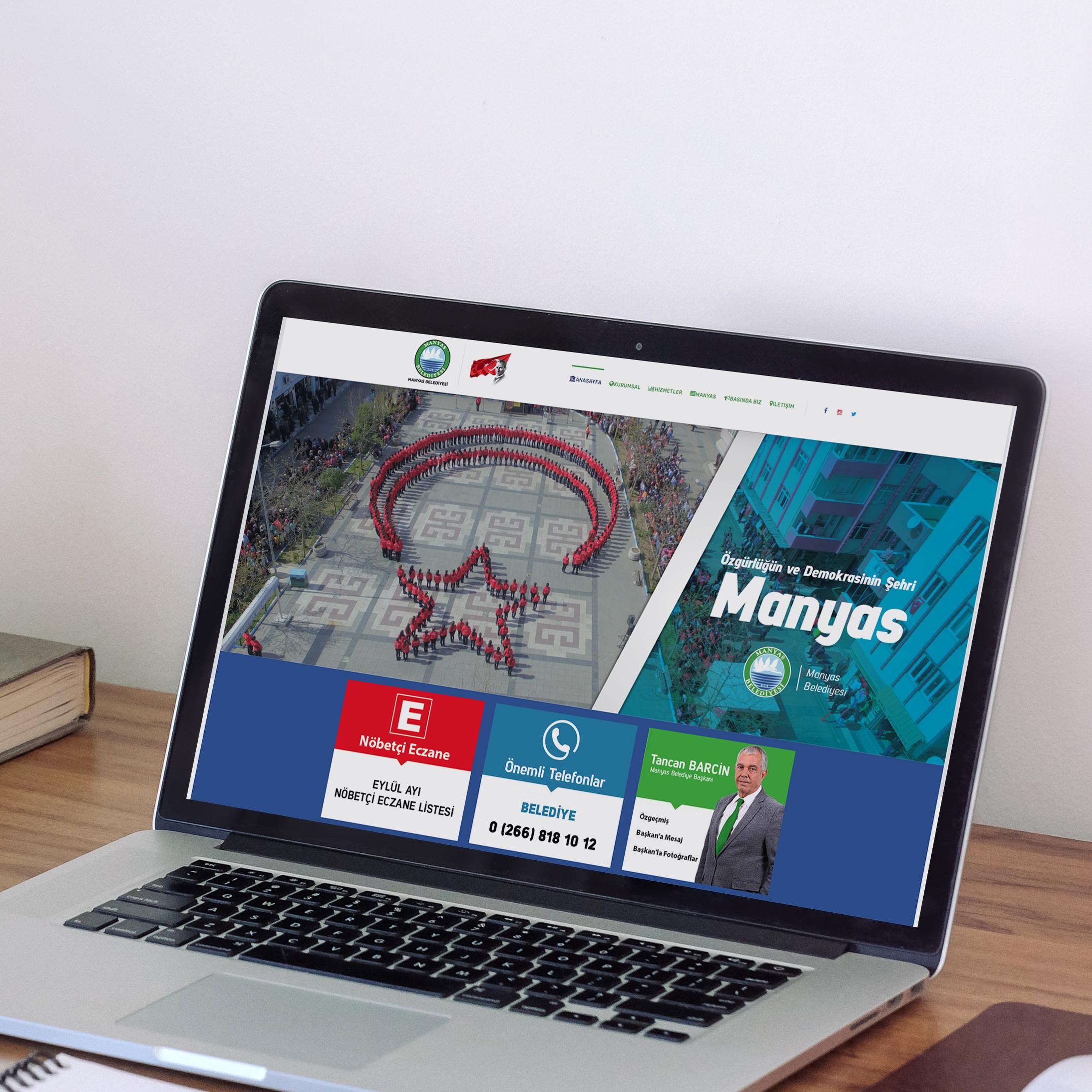 Manyas Belediyesi Web Site