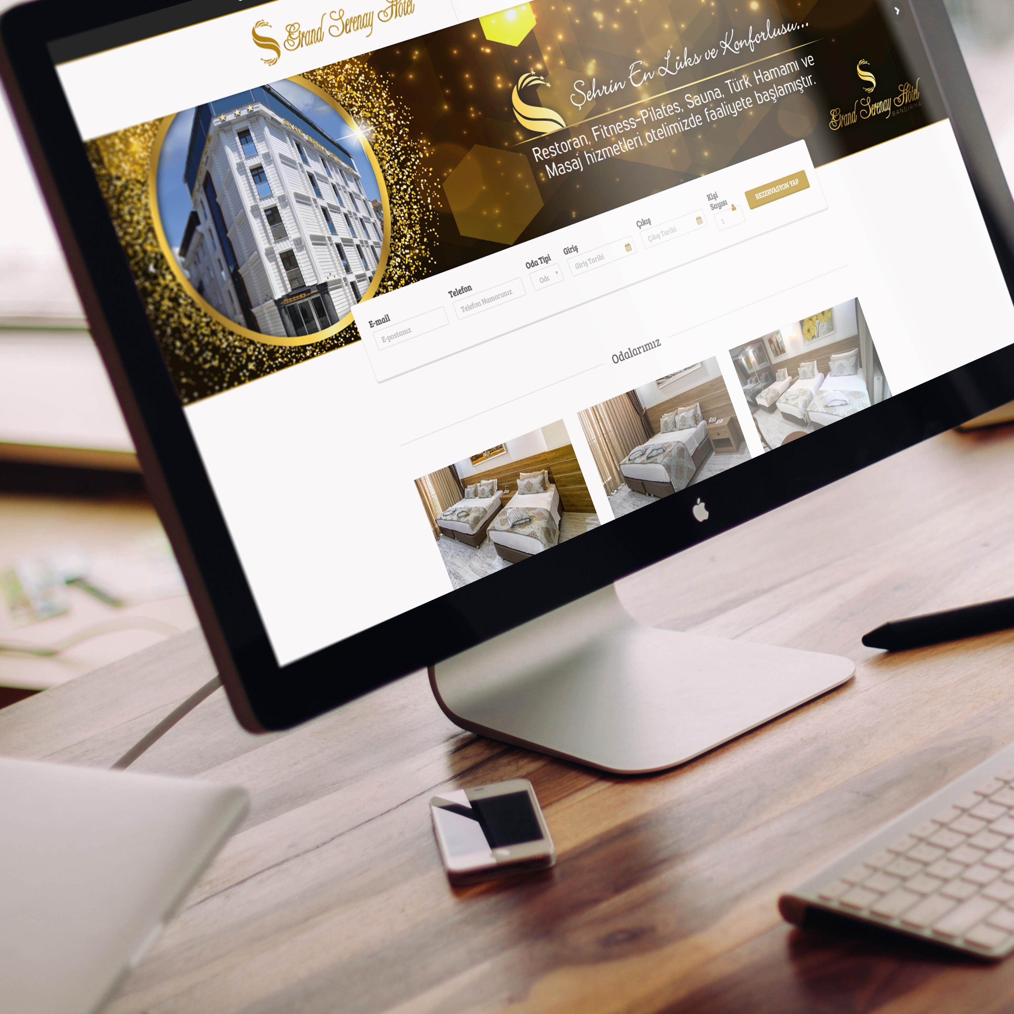 Grand Serenay Hotel Web Site