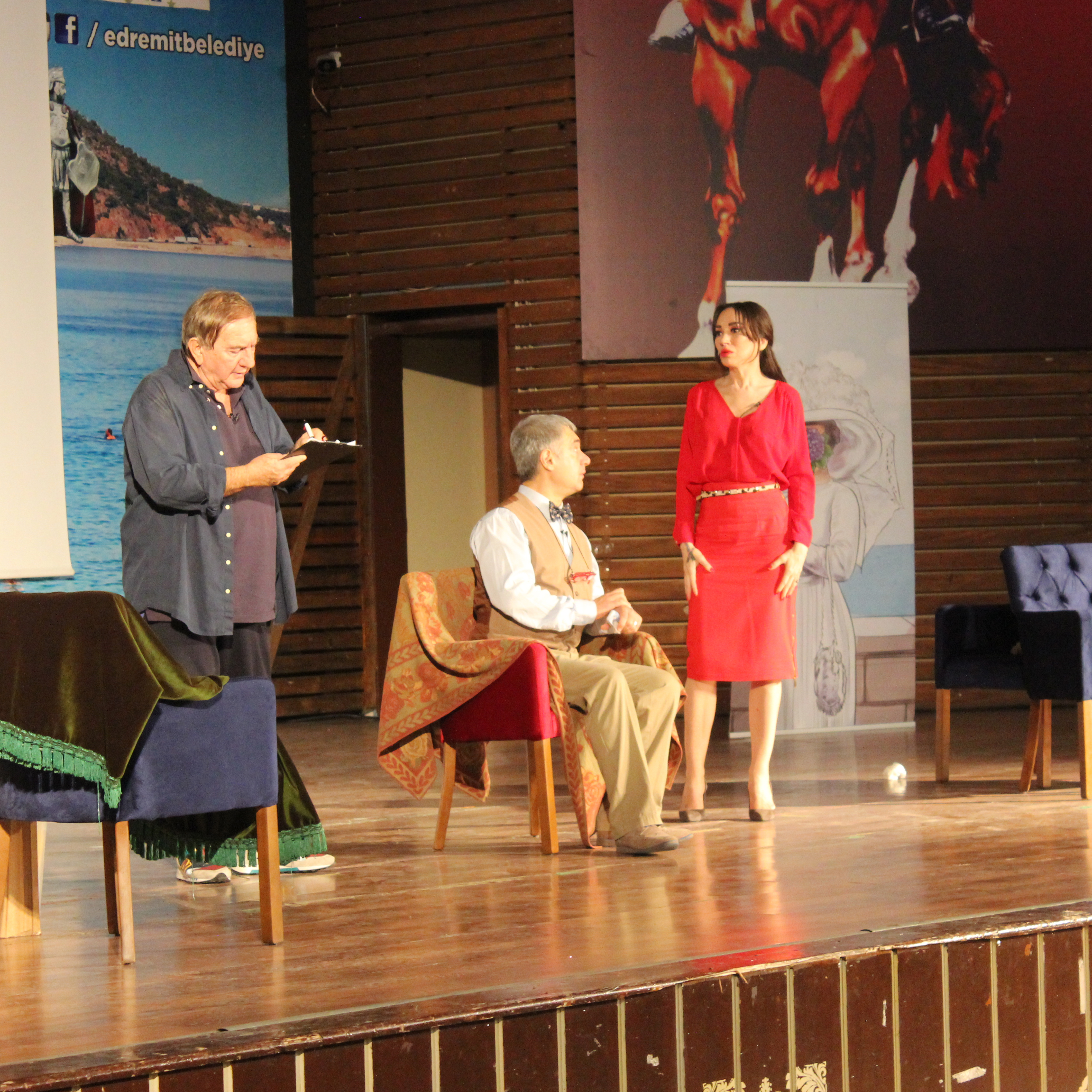 "Ali Poyrazoğlu Tiyatrosu ""TAMAMLA BİZİ EY AŞK"""